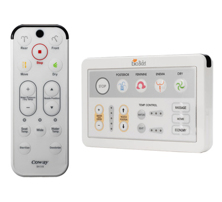 Bidet Toilet Seat Remote Controls